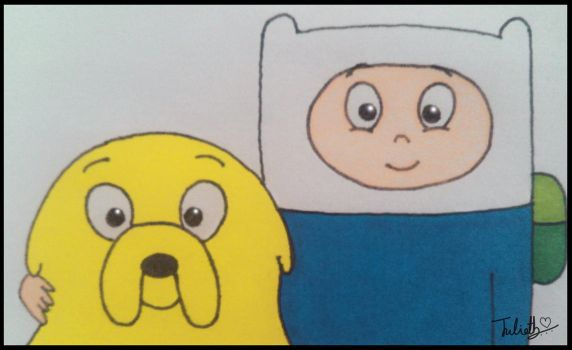 Finn and Jake by YulizieLove