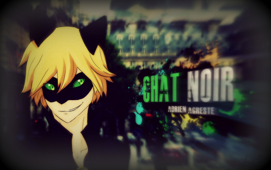 Chat Noir - Adrien Agreste by AzuraJae