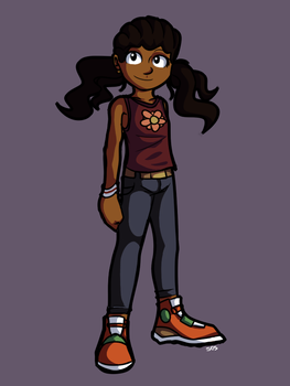 Sierra Armes (Age 8) by shadowtheultimate101