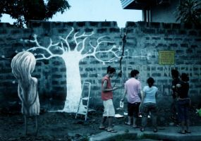 Planting Tree by avid