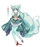 ADOPT: Yuki Kitsune ( CLOSED ) by Theera