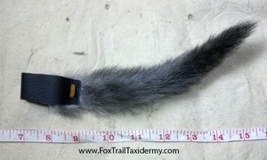 Mink Tail with Leather loop by EternalEmporium
