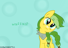 Where are the waffles? by WakeningWaffles