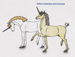 Indian Cartozonon Cartazoon by Shara-Moonglow