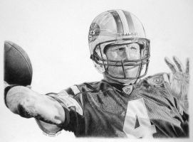 Brett Favre by MarkosTheGreat