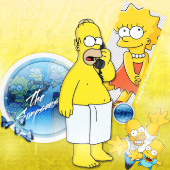 The Simpsons Png Pack by flawlessjlaw