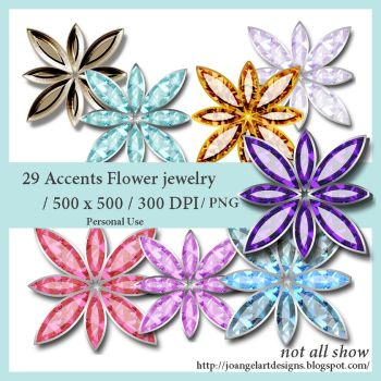 Flowers Jewelry by josevania