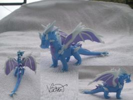 Ice Dragon cyril by VictorCustomizer