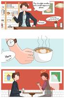 Jack and Ianto: Love in a coffee cup by ice-cream-skies