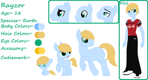 Rayzor (Complete Ref) AUCTION! by PyscoSnowflake