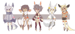 free adopts :wow closed///// : by Mordekaih