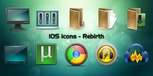 iOS icons by Falco101