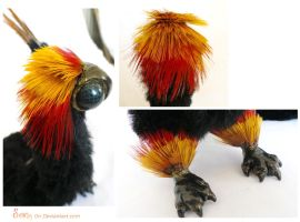 Vestra the Baby Fire Dragon SOLD Details by Sovriin