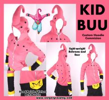 Kid Buu Cosplay Hoodie by calgarycosplay