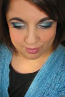 Moody Blues Makeup - Request by Cinnamoncandy