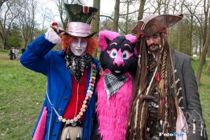 Pinky In pirate wonderland by FotoFurNL