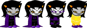 SD - Violet Terezi Alt Outfits by Shadowgate31