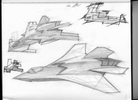 more aircraft studies by mikemars
