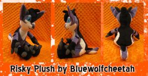 Commission: Risky Plushie by BlueWolfCheetah