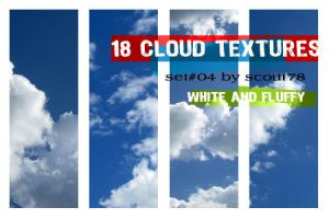 cloud textures - set 4 by scout78