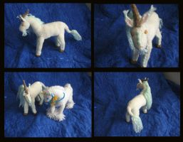 -Knitting- Poseable Kirin by LadyTemeraire