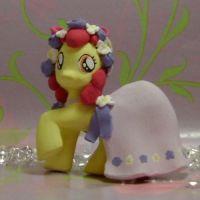 Royal Wedding Apple Bloom G4 Custom Blind Bag MLP by SanadaOokmai