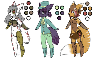 Steampunk Furry Customs by TechSupportGirls