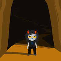 Lil Vriska is ADORABLE by Qman98