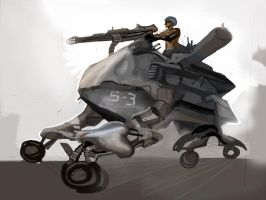 Concept military vehicle by alexmartinez