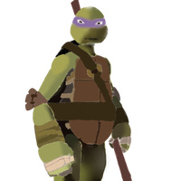 TMNT 2012: Donnie by artgamerforever