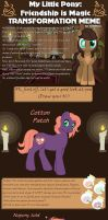 MLP - Transformation meme - Cotton by merrypaws