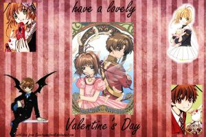 sakura syaoran valentines day by sweetanimefreek