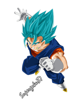 Vegetto Ssj Dios by Supergoku37