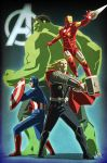 Avengers Assemble! by kit-kit-kit