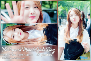 PHOTOPACK GIRLS DAY #10 (MINAH) by byunce