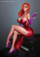 Jessica Rabbit  - 29th Pretty Picture by essentialsquid