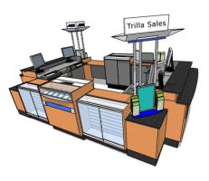 The Ultimate Sales Kiosk by Trilla