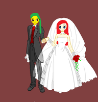 Matt - Mandy Wedding Outfits by MHDeuceGorgon