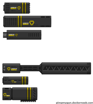 Mobius Arms Suppressor Pack 2 by dronner66