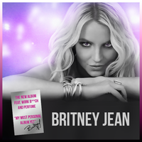 Britney Spears - Britney Jean w/sticker by ColourCrayon