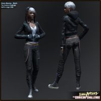 Comicon '10 Storm - sheet 03 by polyphobia3d