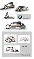 Bmw C2+Sketches by Slavche