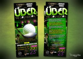 UBER_The Golf Edition Flyer by innografiks