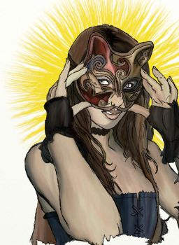 +Masked woman 4 + by girlfr0mhell