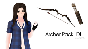MMD Archer Pack DL by IamMaemi