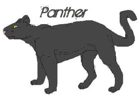 Lovely Panther by SOLIDShift
