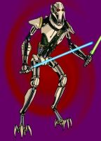 Combat-ready General Grievous by mpcp13