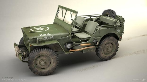 Willys Jeep 06 by zsozs