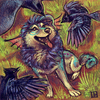 Vantid and the Jays by thornwolf