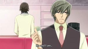 Junjou Romantica Don't Say It! by JerseyCar